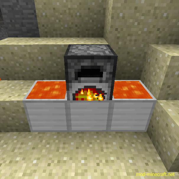 how to create furnace in minecraft