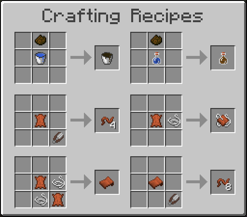 Leather Works Mod Recipes 15
