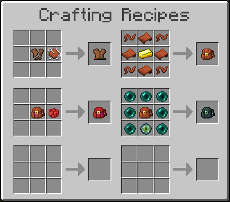 Leather Works Mod Recipes 16