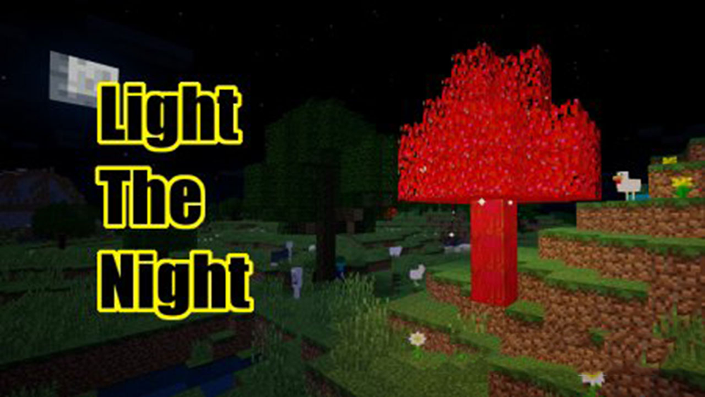 Light The Night mod for minecraft
