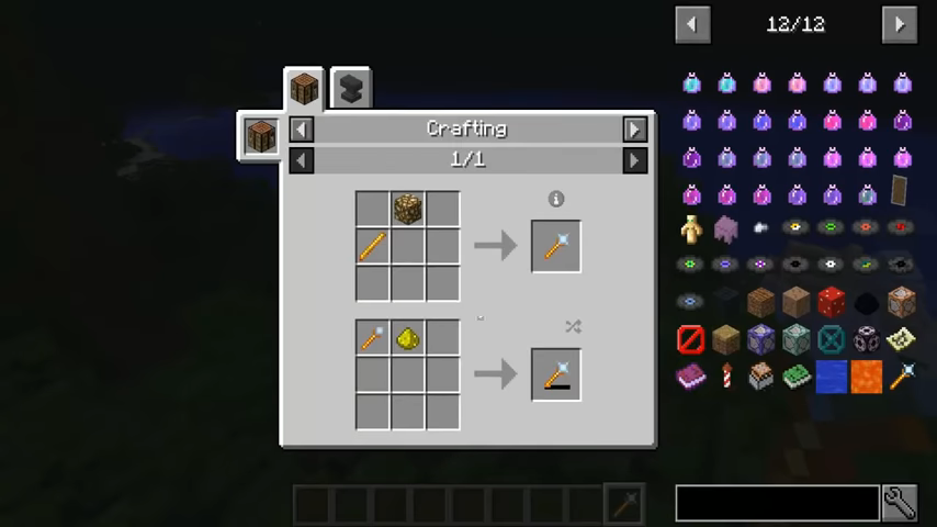 Lighting Wand mod for minecraft recipes 01