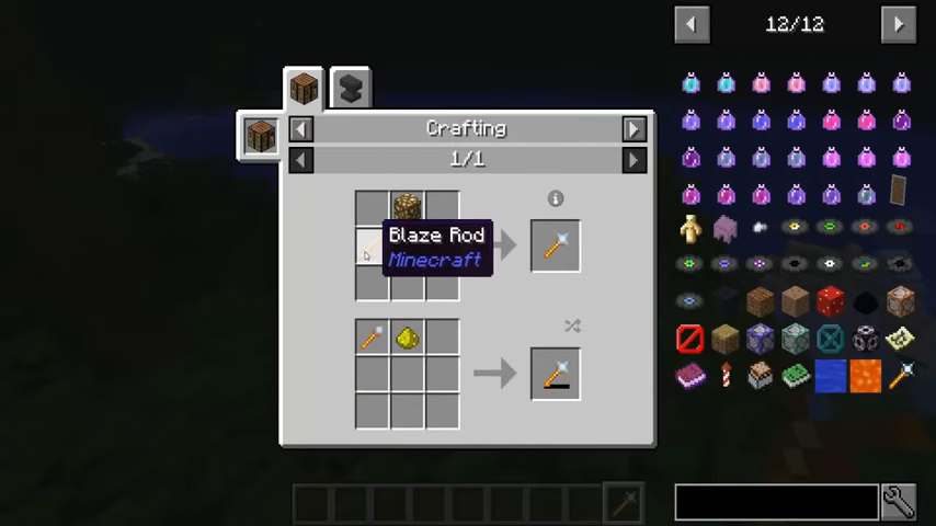Lighting Wand mod for minecraft recipes 02