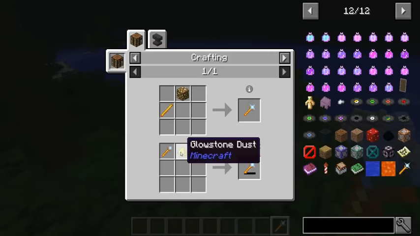 Lighting Wand mod for minecraft recipes 04