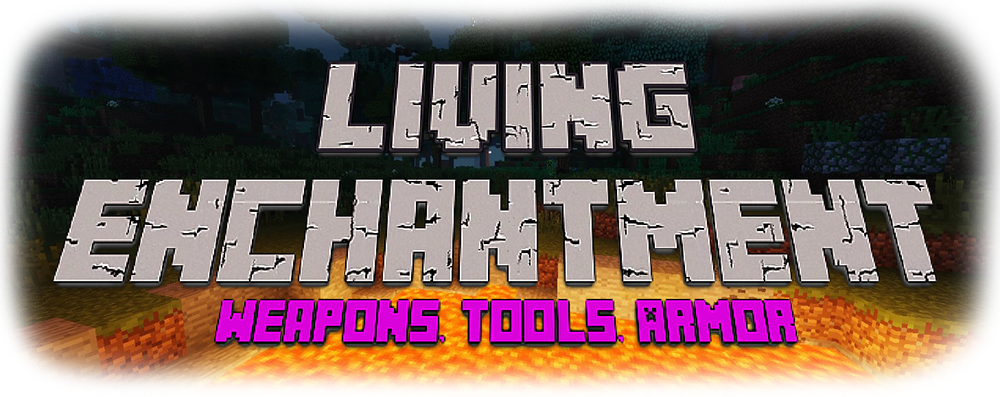 Living Enchantment mod for minecraft