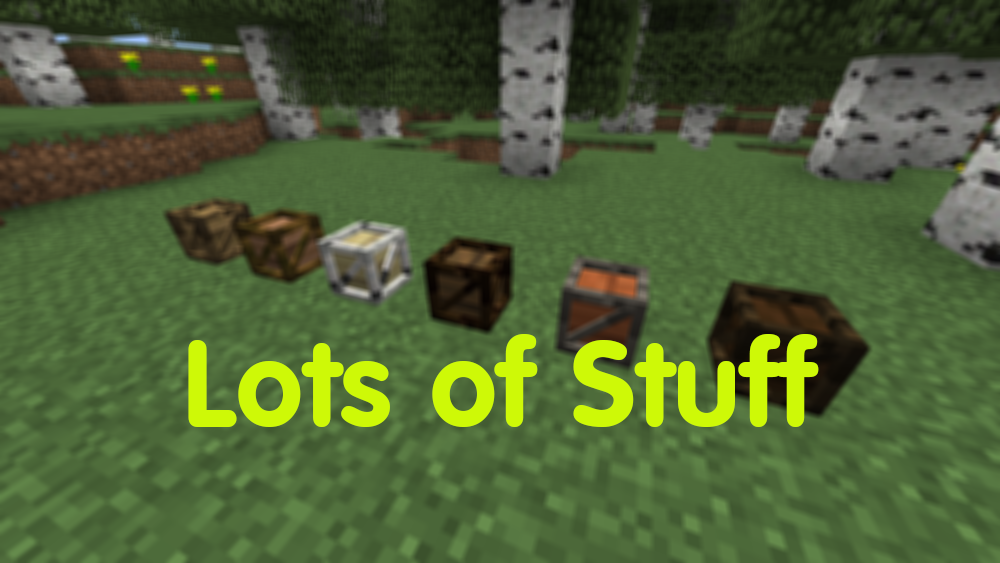 Lots of Stuff mod for minecraft