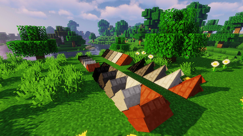 Macaws Roof's mod for minecraft screenshots 04
