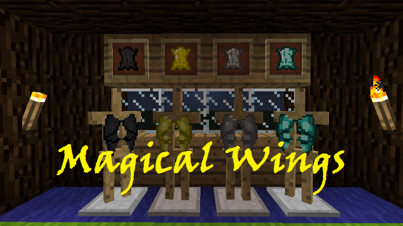 Magical Wings Mod