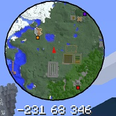 minecraft mini map mods