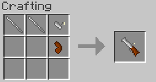 Matchlock Guns mod for minecraft recipes 10