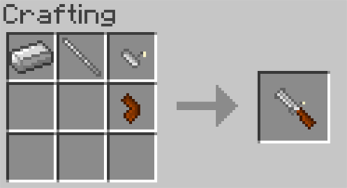 Matchlock Guns mod for minecraft recipes 12