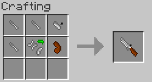 Matchlock Guns mod for minecraft recipes 13