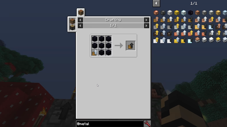 Metal Chests mod for minecraft recipes 06