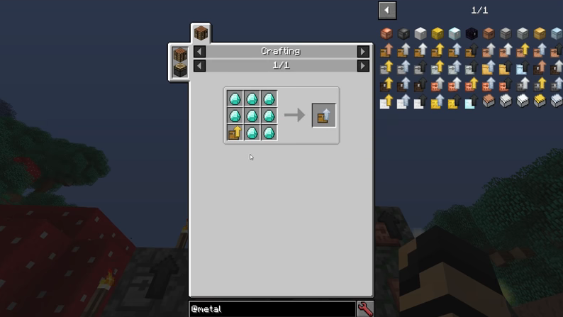 Metal Chests mod for minecraft recipes 07