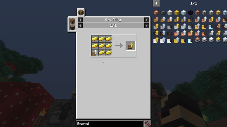 Metal Chests mod for minecraft recipes 09