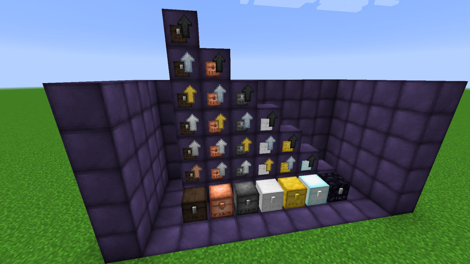 Metal Chests mod for minecraft screenshots 01