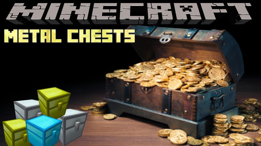 Metal Chests mod for minecraft