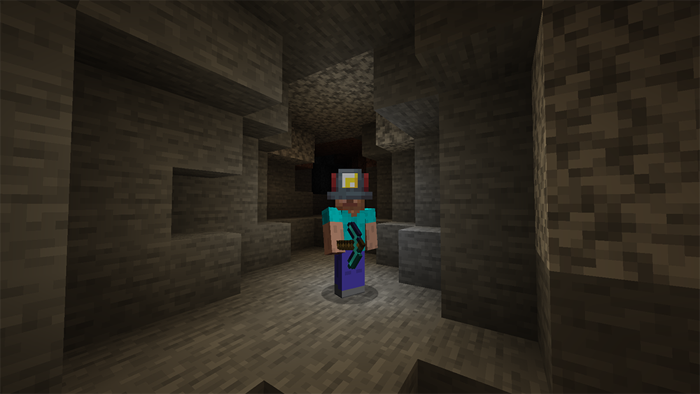 Miners Helmet mod for minecraft screenshots 01