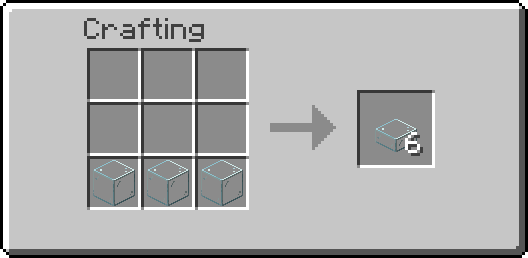 Mo Glass mod for minecraft recipes 01