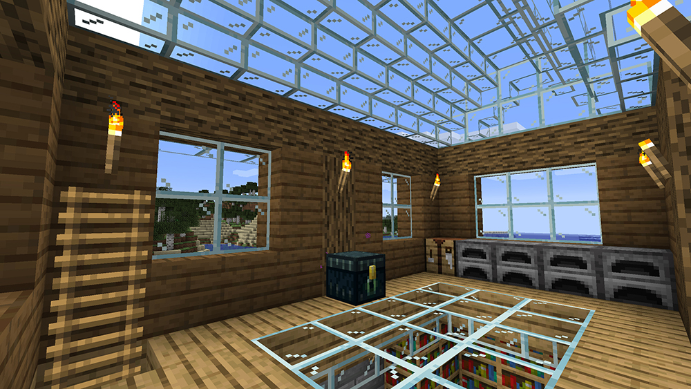 Mo Glass mod for minecraft screenshots 02