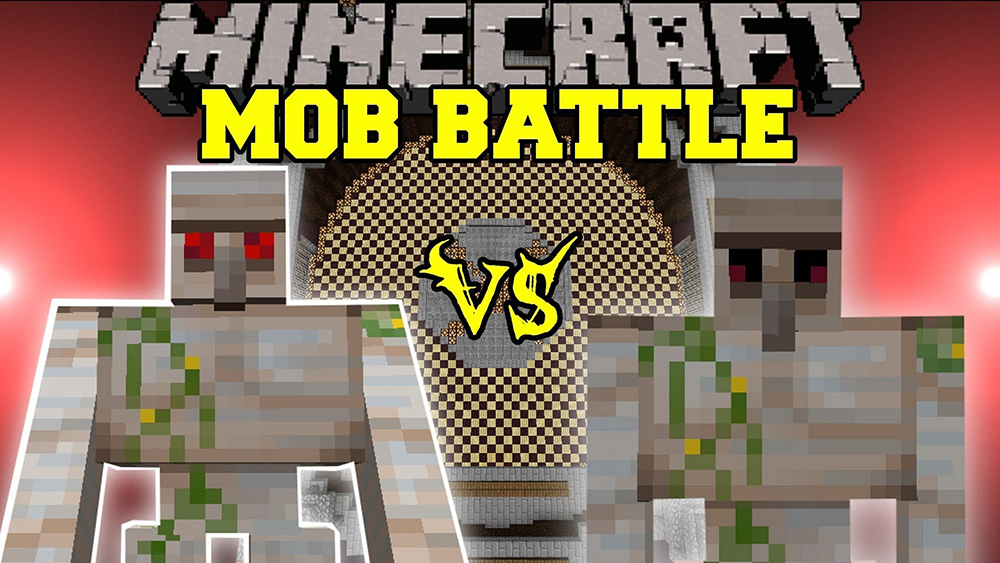 Mob Battle mod for minecraft