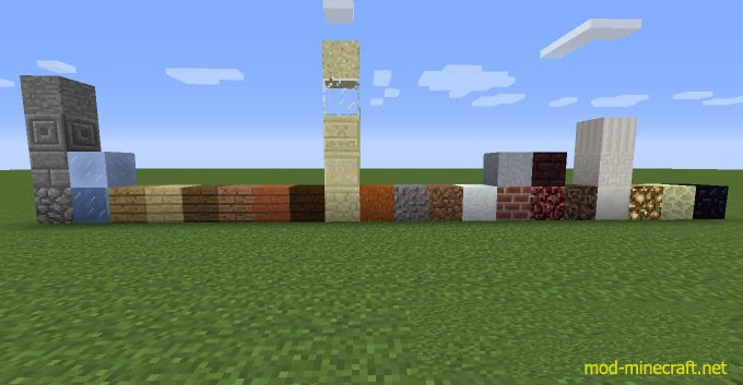 Good Building Materials Combinations Minecraft