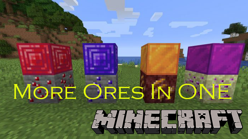More Ores In ONE mod for minecraft
