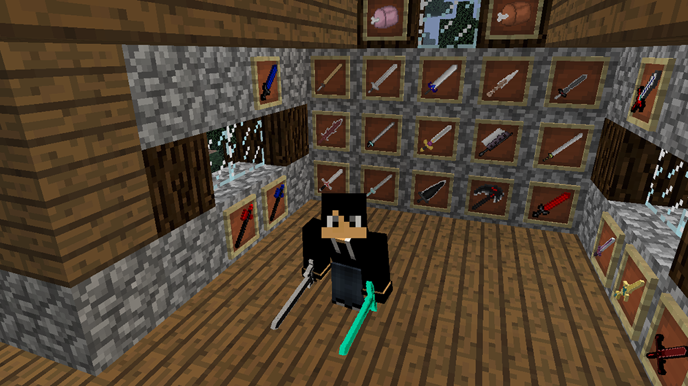 More Sword Online mod for minecraft screenshots 01