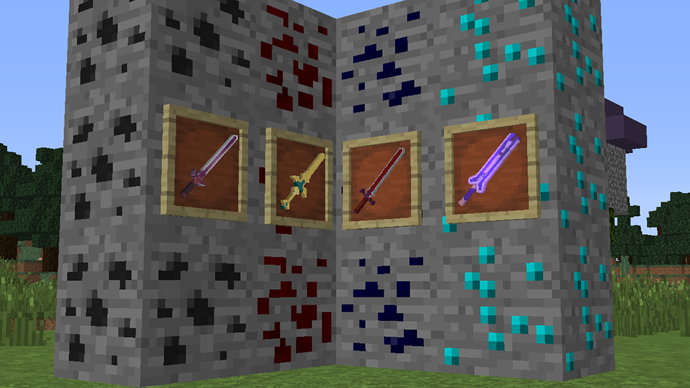 More Sword Online mod for minecraft screenshots 04