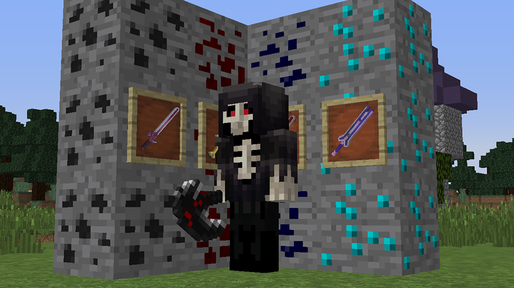 More Sword Online mod for minecraft screenshots 05