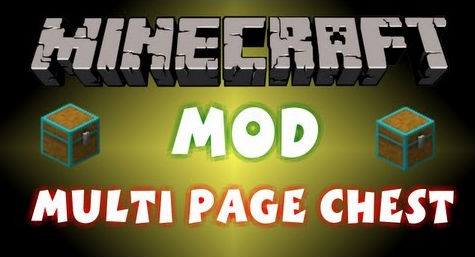 Multi Page Chest [1.10.2] Multi Page Chest Mod Download