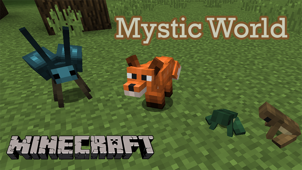 Mystic World mod for minecraft