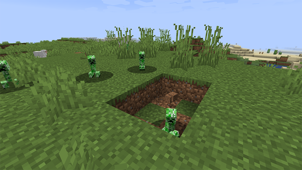 Not Enough Creepers mod for minecraft screenshots 12