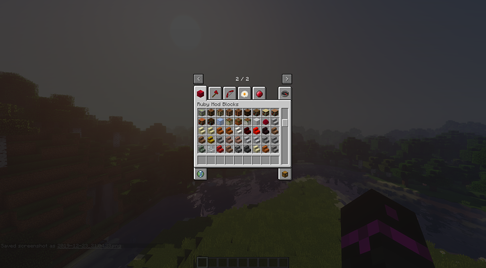 Not Just Another Ruby mod for minecraft screenshots 03