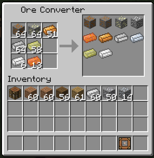 Ore Dictionary Converter Mod 3 [1.10.2] Ore Dictionary Converter Mod Download