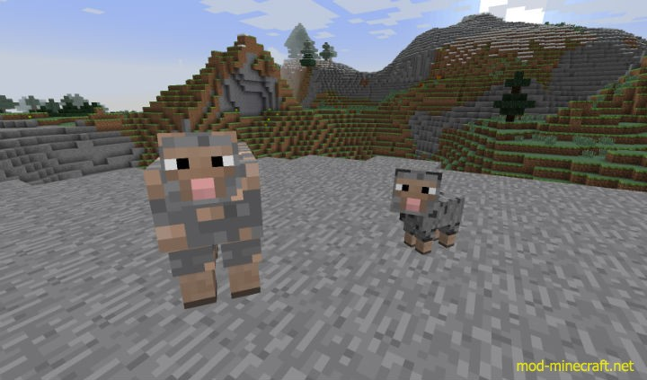 Ore Sheep Mod 1 [1.7.10] Ore Sheep Mod Download
