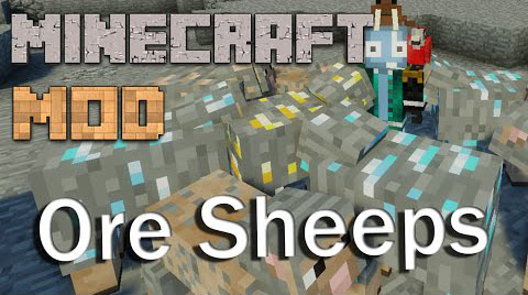 Ore Sheep Mod [1.7.10] Ore Sheep Mod Download