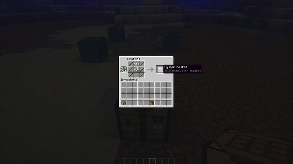 Oysters mod for minecraft recipes 01
