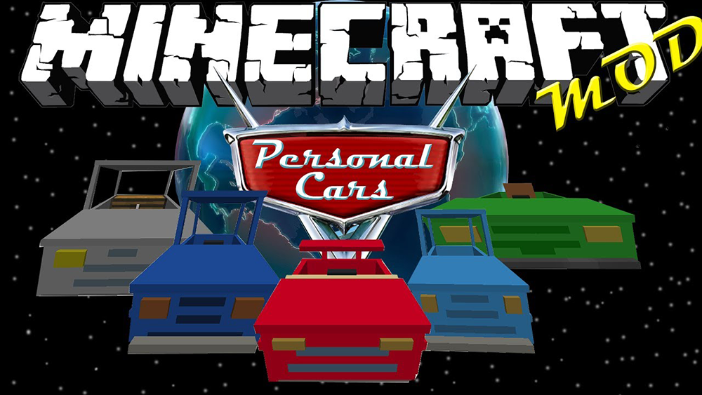 Personal Cars Mod for Minecraft 1 12 2/1 11 2 (Your Own Car
