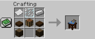 Project Table mod for minecraft recipes 01