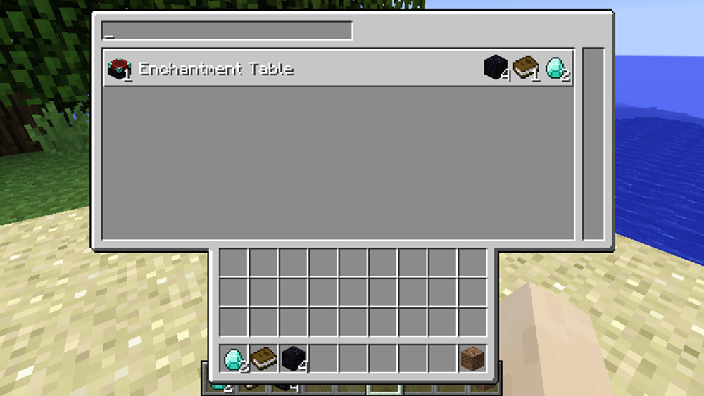 Project Table mod for minecraft screenshots 02