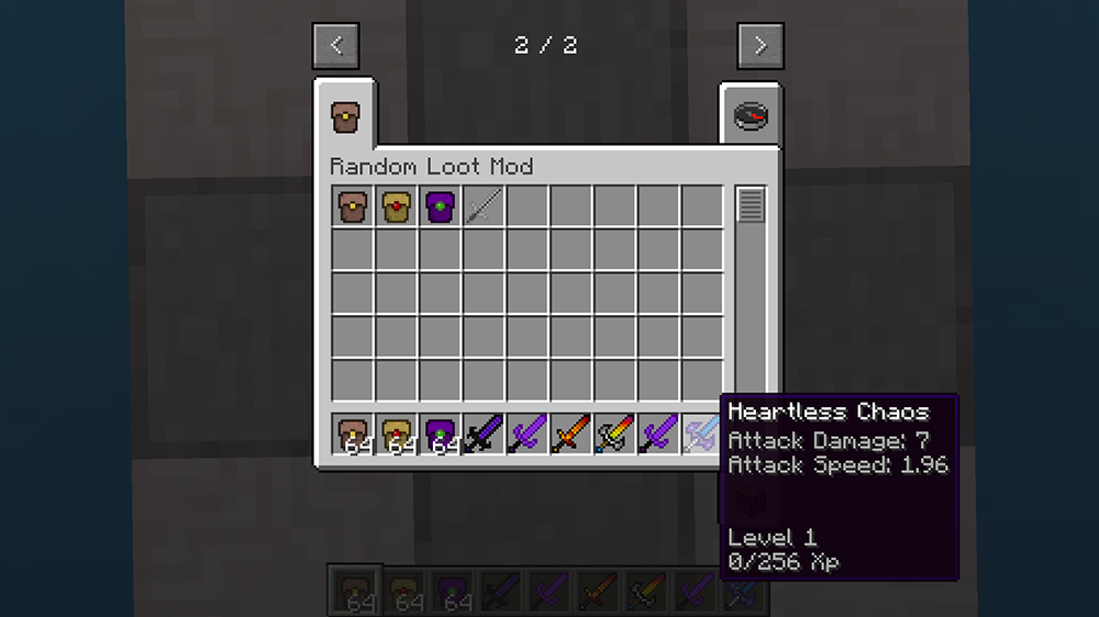 Random Loot mod for minecraft screenshots 05