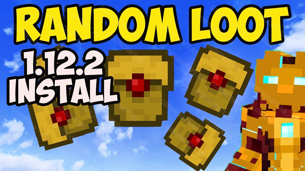 Random Loot mod for minecraft
