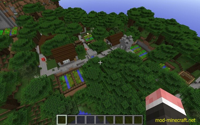 Mo Villages Mod 1 7 10 1 7 2 By Pigs Ftw Minecraft Mods