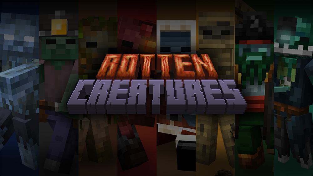Rotten Creatures mod for minecraft