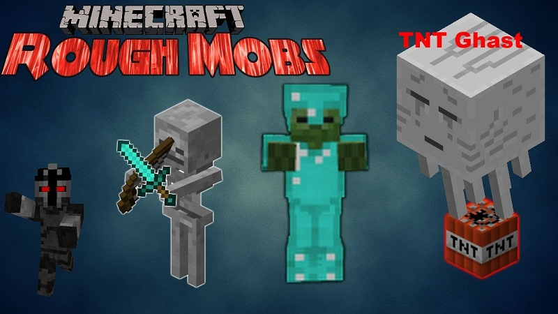 Rough Mobs Mod For Minecraft ModMinecraftnet - Minecraft teleport player to mob