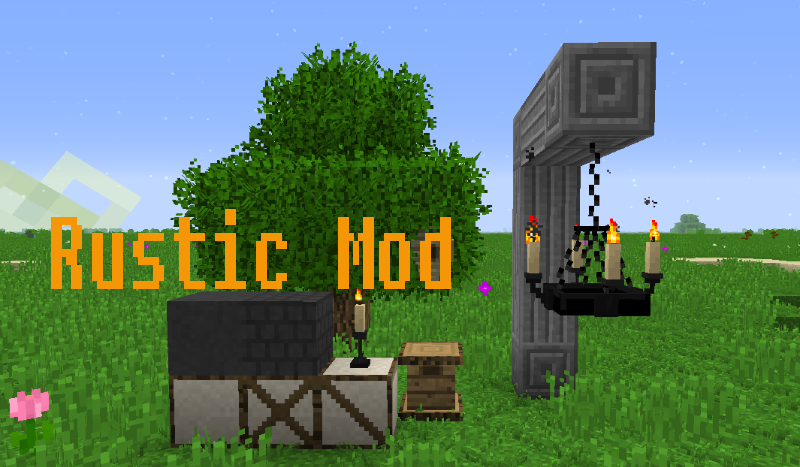 Rustic Mod 1122 1112 1102 For Minecraft