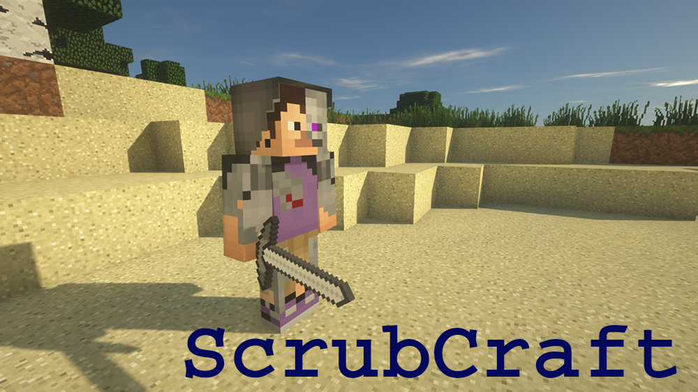ScrubCraft mod for minecraft