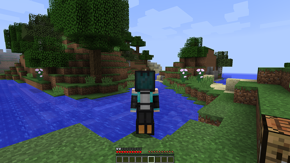 Simple Diving Gear mod for minecraft screenshots 02