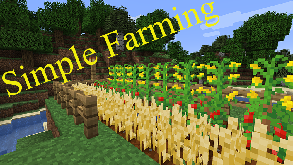 Simple Farming mod for minecraft