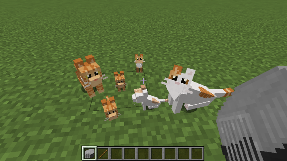 Simply Cats mod for minecraft screenshots 01